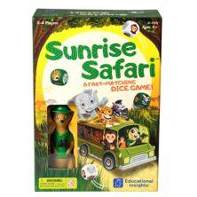Образовательная информация Настольная игра Sunrise Safari Educational Insights