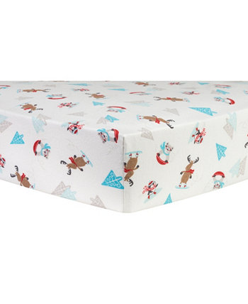 Frost Fun Фланелевый лист для кроватки Trend Lab