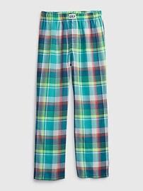 Детские фланелевые пижамные брюки Gap
