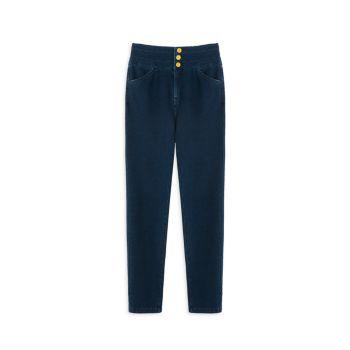 Girl's High-Rise Skinny Jeans Habitual