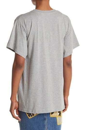 Crew Neck Oversized T-Shirt Jeremy Scott