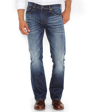 Мужские джинсы 527 ™ Slim Bootcut Fit Levi's®