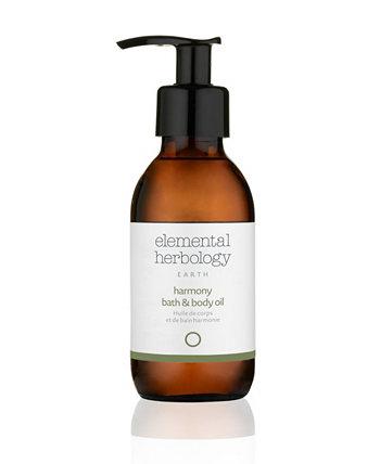 Earth Balance Bath Body Oil, 5 жидких унций Elemental Herbology