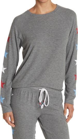 Пижамный топ со звездами и длинными рукавами PJ SALVAGE