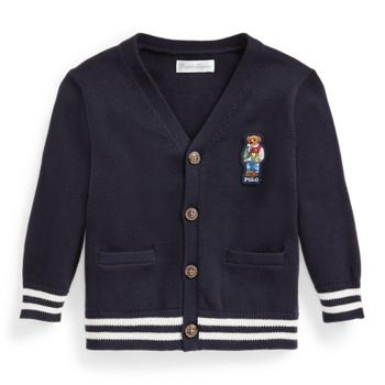 Polo Bear Cotton Cardigan Ralph Lauren