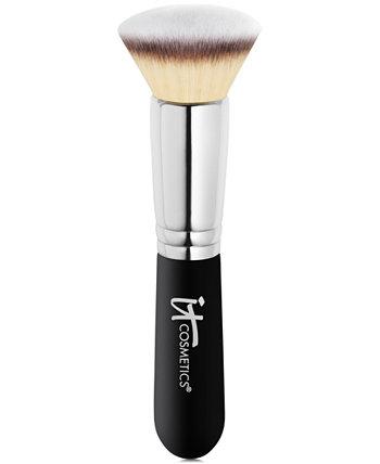 Кисть для тональной основы Heavenly Luxe Flat Top Buffing Foundation Brush # 6 IT Cosmetics