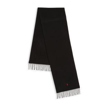 Шарф из смесовой шерсти Polo Ralph Lauren