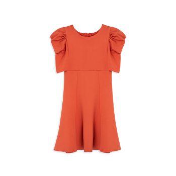 Girl's Ruffle Flounce Dress Habitual