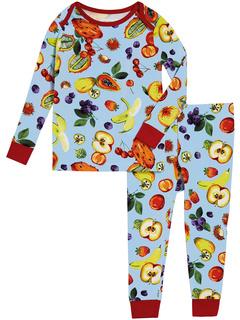 Двухкомпонентный пижамный комплект Boo Boo с длинными рукавами (для младенцев) BedHead Pajamas Kids