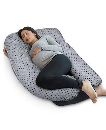 Подушка для беременных с чехлом из джерси, U-образная подушка для всего тела PharMeDoc