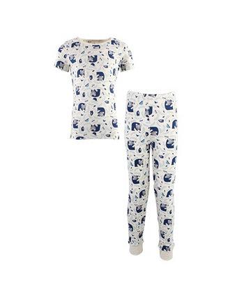 Пижамный комплект для девочек и мальчиков Woodland для малышей, 2 шт Touched by Nature