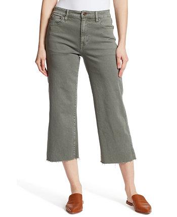 Укороченные широкие джинсы Ella Moss