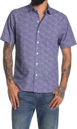 Рубашка стандартного кроя с короткими рукавами Penrith ROBERT BARAKETT