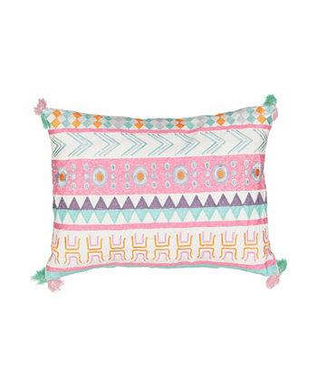 Декоративная подушка Kids La La Llama, 14 x 20 дюймов Waverly