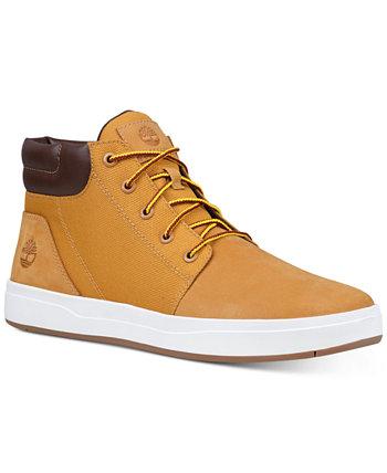 Мужские ботинки Chukka с квадратным воротником и квадратным воротником Davis Timberland