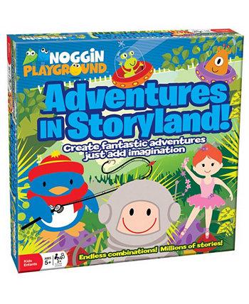 Приключения в Storyland! Noggin Playground