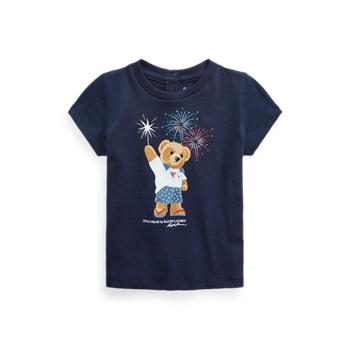 Футболка Polo Bear из хлопкового джерси Ralph Lauren