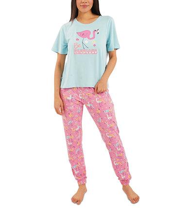Пижамный комплект Flamingo Jogger Pants Munki Munki