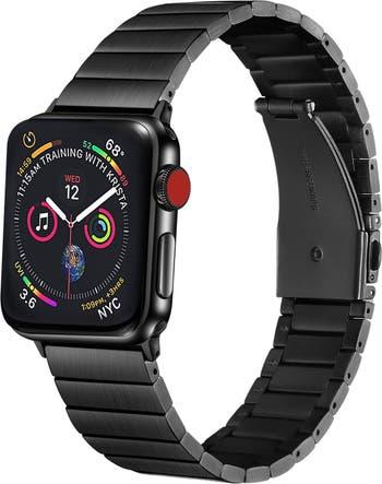 Ремешок из нержавеющей стали 42 мм / 44 мм для Apple Watch со съемными звеньями для Apple Watch Series 1, 2, 3, 4, 5 POSH TECH