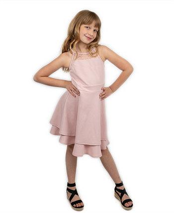 Платье с двойной юбкой для больших девочек Emerald Sundae