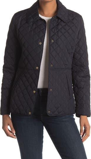 Quilted Snap Front Jacket LAUREN Ralph Lauren