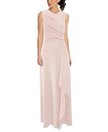 Платье с асимметричным вырезом Adrianna Papell