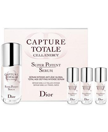 4-шт. Capture Totale Super Potent Serum Набор для дома и в гостях Dior