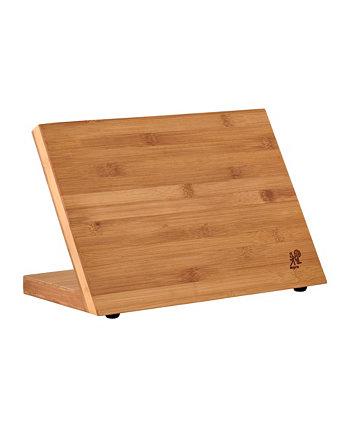 Магнитный бамбуковый блок для столовых приборов MIYABI