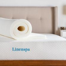 Linenspa Signature 2-дюйм. Наматрасник из пены с эффектом памяти ActiveRelief Linenspa
