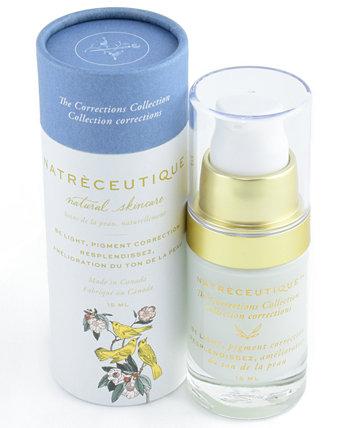 Natreceutique Be Light, Крем для пигментной коррекции и натурального осветления кожи, 0,5 унции The Sunscreen Company