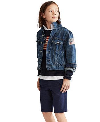 Хлопковая куртка дальнобойщика Big Boys Ralph Lauren