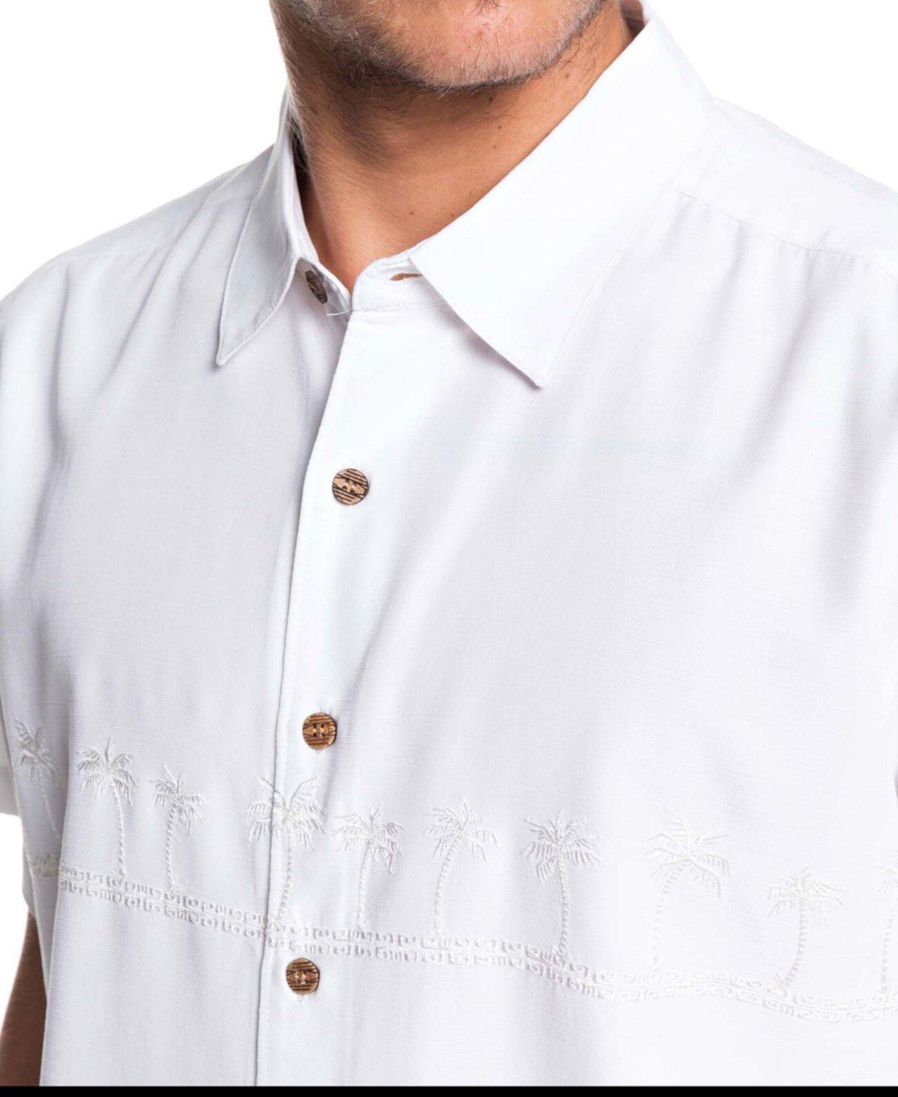 Мужская рубашка с коротким рукавом Tahiti Palms 4 Quiksilver