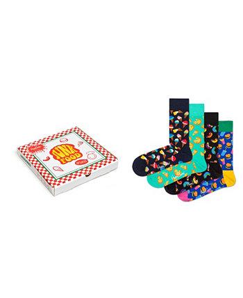 Подарочная упаковка для женской нездоровой пищи, упаковка из 4 шт. Happy Socks