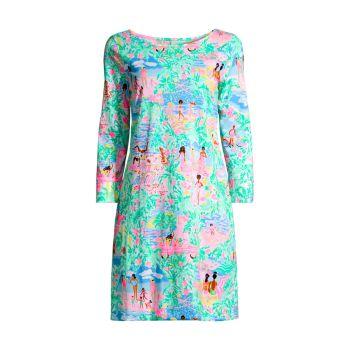 Платье прямого кроя с принтом Marlowe Lilly Pulitzer