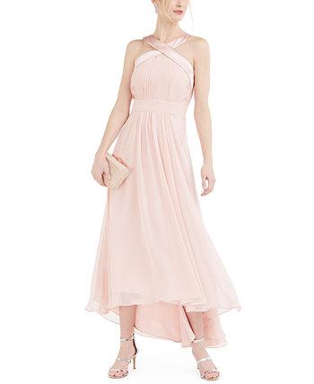 Миниатюрное шифоновое платье Eliza J