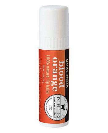 Бальзам для губ с козьим молоком, кровавым апельсином, 0,28 унции Dionis