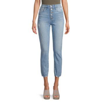 Джинсы прямого кроя Irwindale с высокой посадкой Joe's Jeans