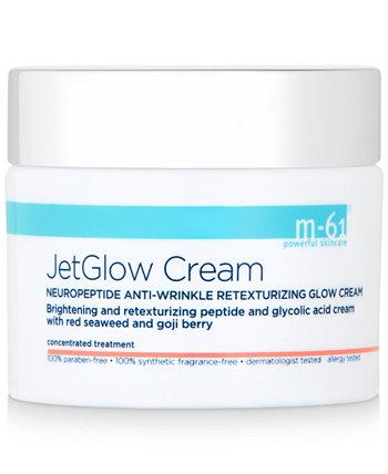 JetGlow Cream Нейропептидный восстанавливающий крем против морщин, 1,7 унции M-61 by Bluemercury