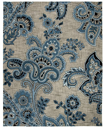 Allure 310 Gray and Blue 8' x 10' Area Rug Safavieh