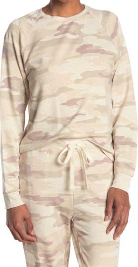Пуловер с камуфляжным принтом и регланом Jacey THREAD AND SUPPLY