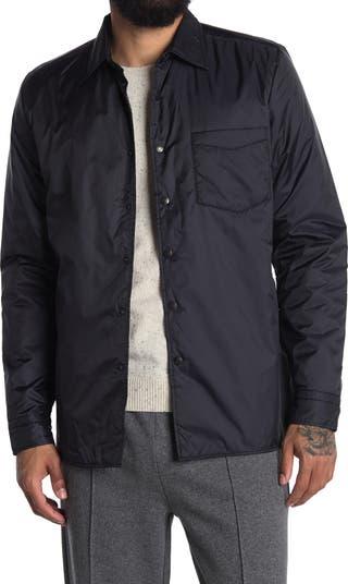 Стеганая нейлоновая куртка стандартного размера с длинными рукавами Pudra REISS