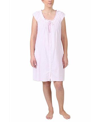 Женская полосатая ночная рубашка Miss Elaine