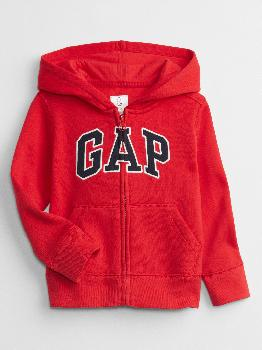 толстовка с капюшоном babyGap с логотипом Gap Factory