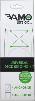 Универсальный 4-х анкерный такелажный комплект Vamo