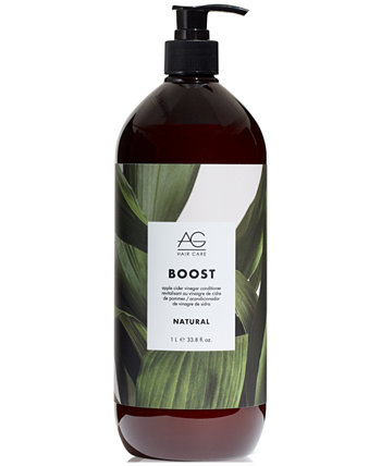 Кондиционер с яблочным уксусом Natural Boost, 33,8 унции, от PUREBEAUTY Salon & Spa AG Hair