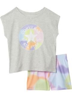 Футболка и шорты Chuck Patch (маленькие дети) Converse Kids