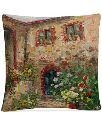 Декоративная подушка Rio Tuscany Courtyard 16 x 16 дюймов BALDWIN