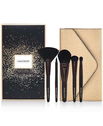 6 шт. Набор кистей Sweeping Beauty Essential Brush Set Laura Mercier