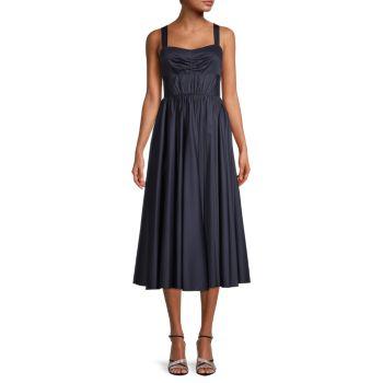 Sleeveless Poplin Day Dress Jason Wu