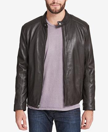 Мужская кожаная мото куртка, созданная для Macy's Marc New York by Andrew Marc